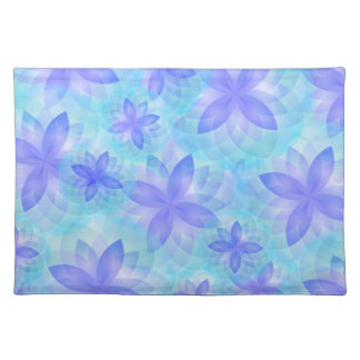 Placemat abstract lotus flower