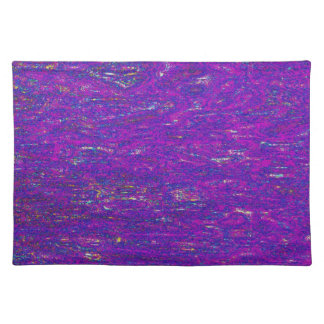 PLACEMAT - BLUE AND PURPLE ABSTRACT