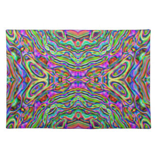 Placemat - colour splodge saved as symmetrical