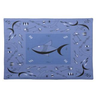 Placemat FABULOUS 50s FISH Retro Vintage 200COLORS