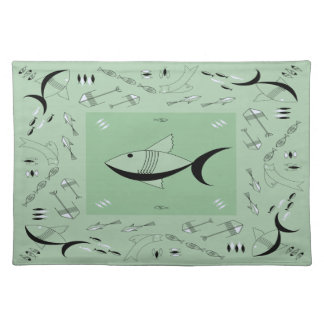 Placemat FABULOUS 50s FISH Retro Vintage 200COLORS