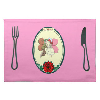 Placemat - Fairy wedding