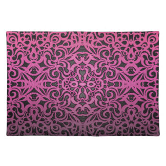 Placemat Floral abstract background