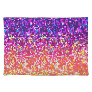 Placemat Glitter Graphic