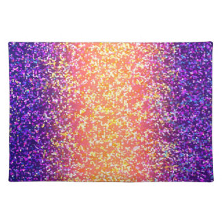 Placemat Glitter Graphic Background
