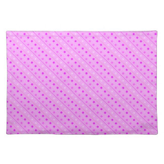 Placemat Hot Pink Polka Dot