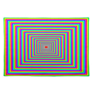 Placemat - Mild Optical Illusion - Squares