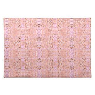 Placemat - Pink Decorative Design