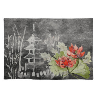Placemat Pretty Asian flower