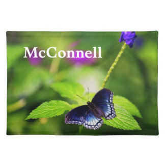 Placemat - Red-spotted Purple Butterfly