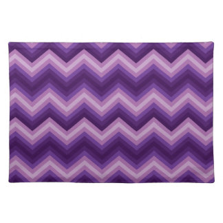 Placemat Retro Zig Zag Chevron Pattern