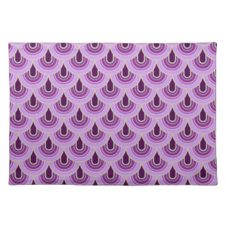 Placemat Seamless retro style