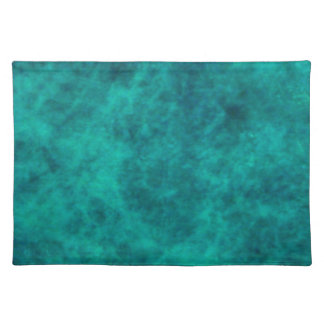 PLACEMAT - TURQUOISE MARBLE EFFECT