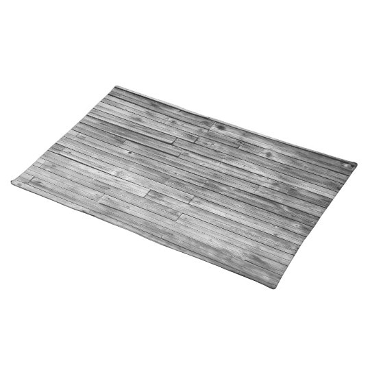 Placemat - Weathered Barn Wood