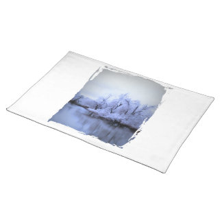 Placemat, Willow Winter Wonderland Cloth Placemat