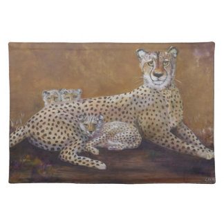 Placemat with Cheetah Design