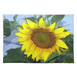 Placemat Yellow Sunflower