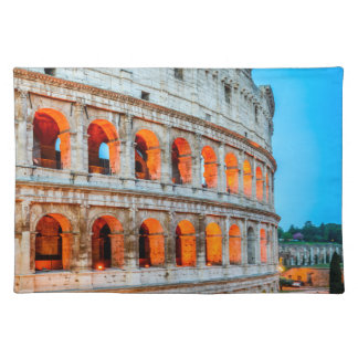 """Placemats  20"""" x 14"""" Colosseum Rome Italy"""