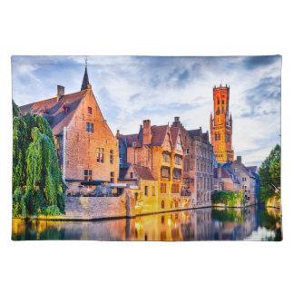Placemats Bruges