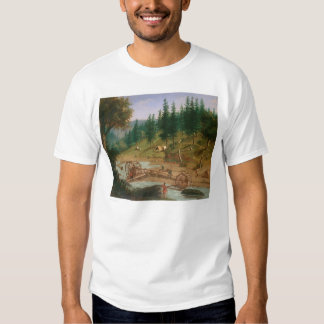 Placer Mining at Foster's Bar, California (1331A) Tshirt