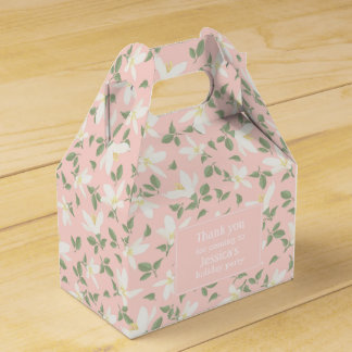 Placer of flowers - Favor Box Wedding Favour Boxes