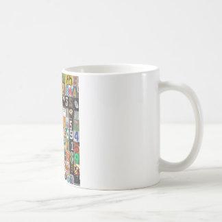 Places of Pi Basic White Mug