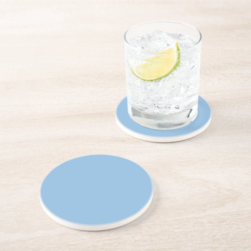 Placid Blue Polka Dot 2 Beverage Coaster