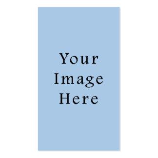 Placid Light Blue Color Trend Blank Template Pack Of Standard Business Cards