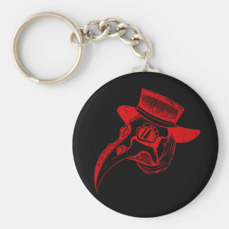 Plague Doc Key Ring