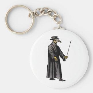 plague-doctor-3 key ring