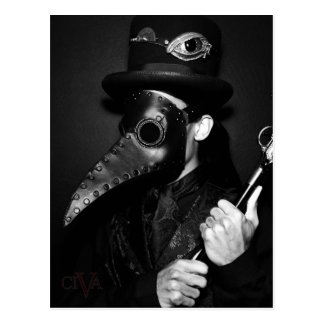 Plague Doctor Postcard