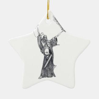 Plague Monk Sketch Christmas Ornament