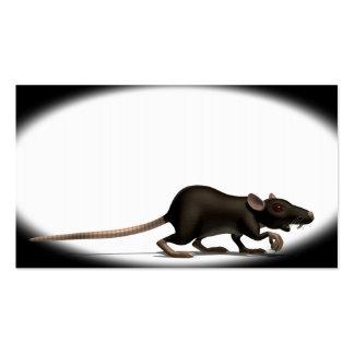 Plague Rat Pack Of Standard Business Cards