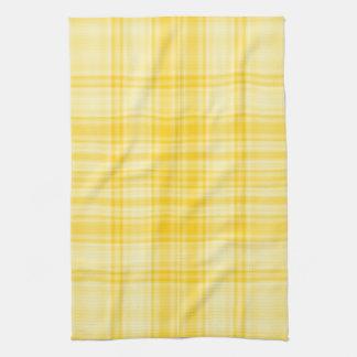Plaid 1 - Yellow Tea Towel