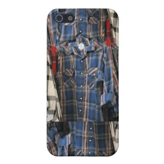 Plaid 80's Hipster Flannel Shirts 4 4S  iPhone 5 Case