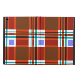 Plaid Abstract 10 iPad Air Cover