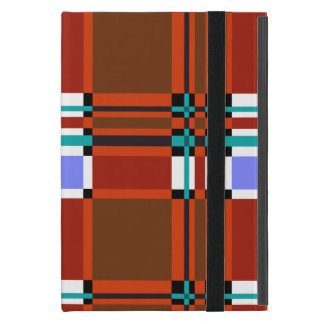 Plaid Abstract 10 iPad Mini Cover