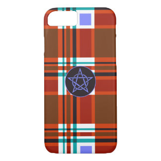 Plaid Abstract 10 iPhone 7 Case