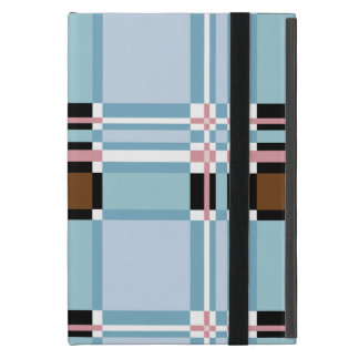 Plaid Abstract 11 Cover For iPad Mini