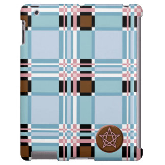 Plaid Abstract 11 iPad Case