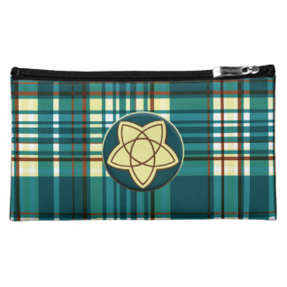 Plaid Abstract 12 Cosmetic Bags