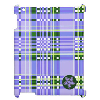Plaid Abstract 14 Case For The iPad