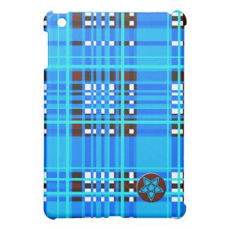 Plaid Abstract 15 iPad Mini Cover