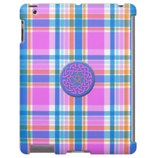 Plaid Abstract 17 iPad Case