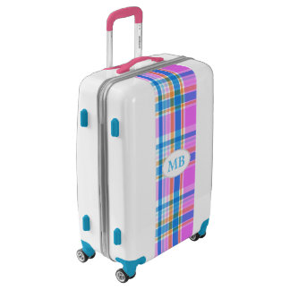 Plaid Abstract 17 Luggage