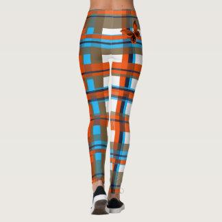 Plaid Abstract 1 Leggings