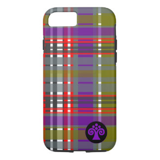 Plaid Abstract 2 iPhone 7 Case