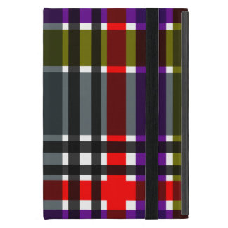 Plaid Abstract 3 iPad Mini Case