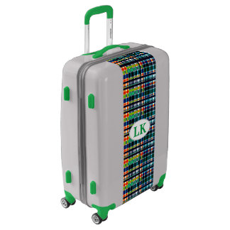 Plaid Abstract 5 Luggage