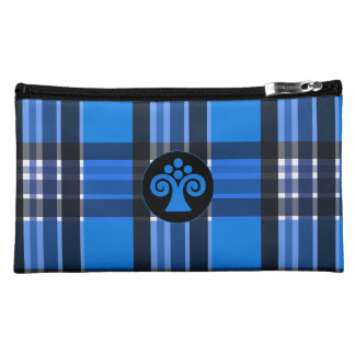 Plaid Abstract 7 Cosmetic Bags